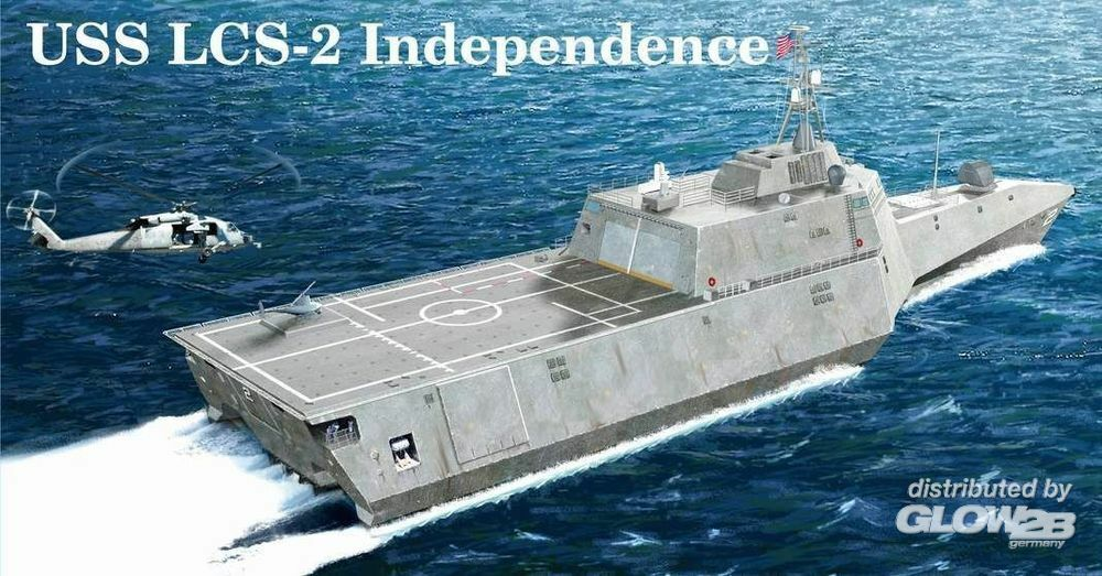 Trumpeter 04548 USS Independence (LCS-2) in 1:350