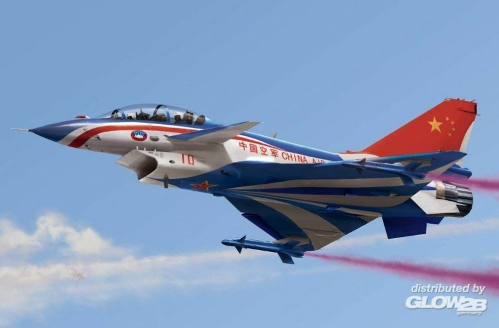 Trumpeter 01644 Chinese J-10S fighter in 1:72