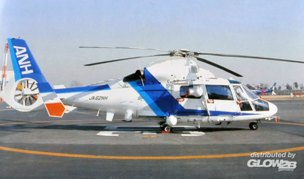Trumpeter 02819 Helicopter-Japanese AS365N2 Dauphin in 1:48