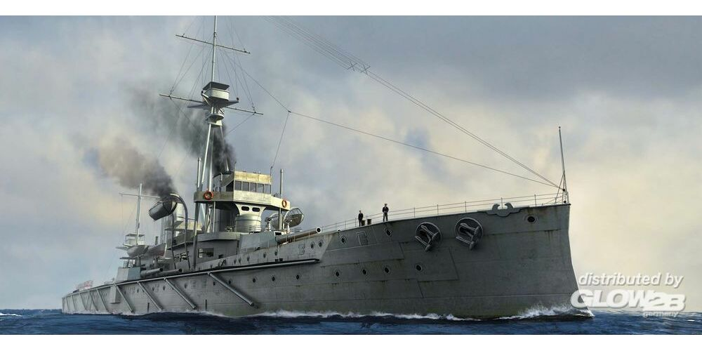 Trumpeter 06704 HMS Dreadnought 1907 in 1:700