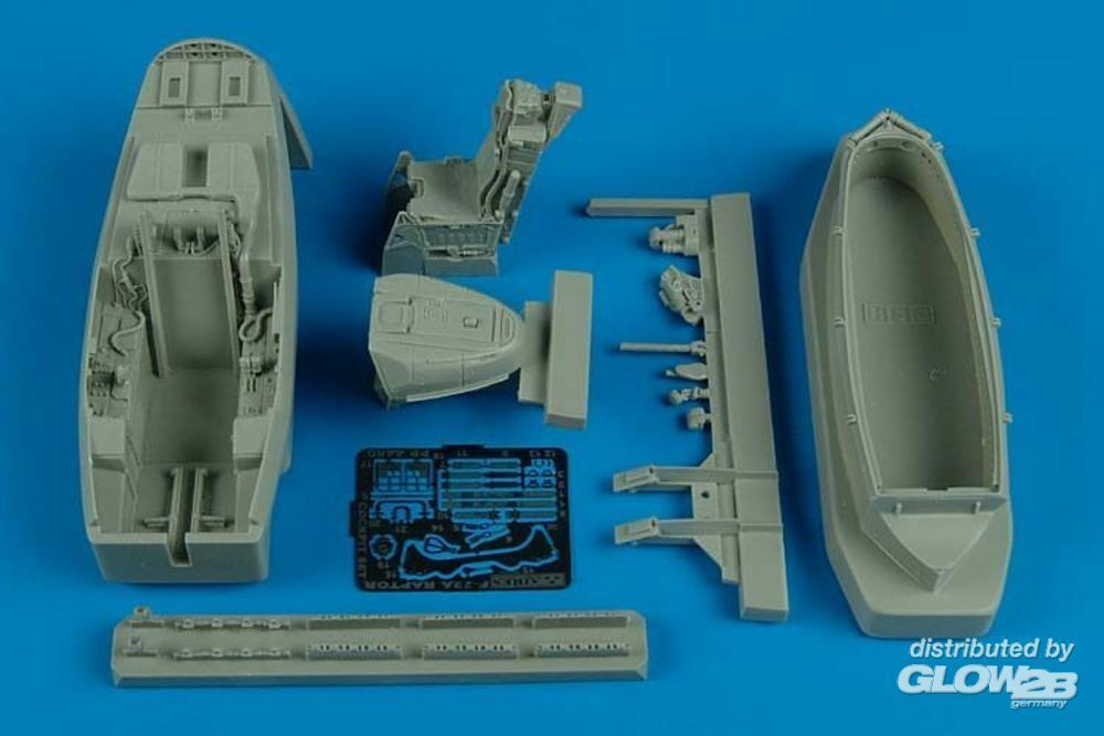 Aires 4480 F/A-22 Raptor cockpit set for Hasegawa in 1:48