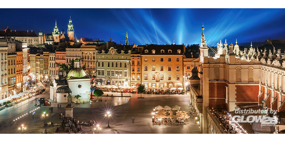 Castorland B-060306 Krakow Main Square at Night,Puzzle 600 Teile