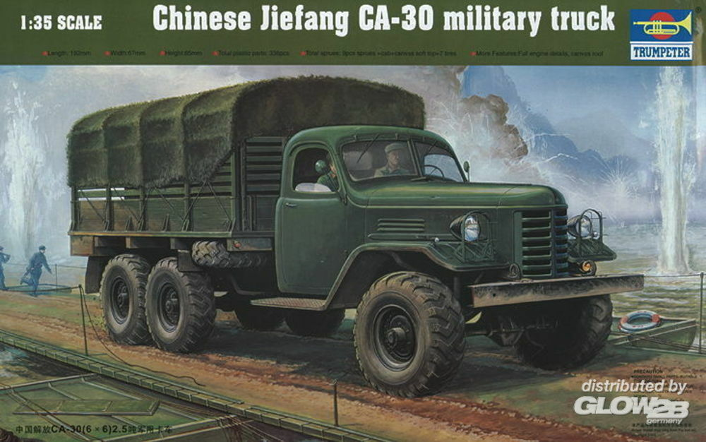 Trumpeter 01002 CA-30 Chinese Military Truck in 1:35