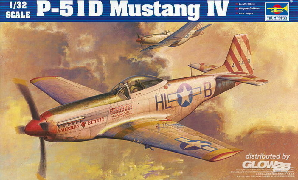 Trumpeter 02275 P-51D Mustang in 1:32