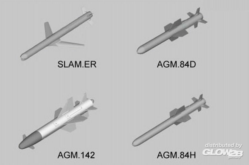 Trumpeter 03306 U.S. Aircraft Weapons: Missiles in 1:32