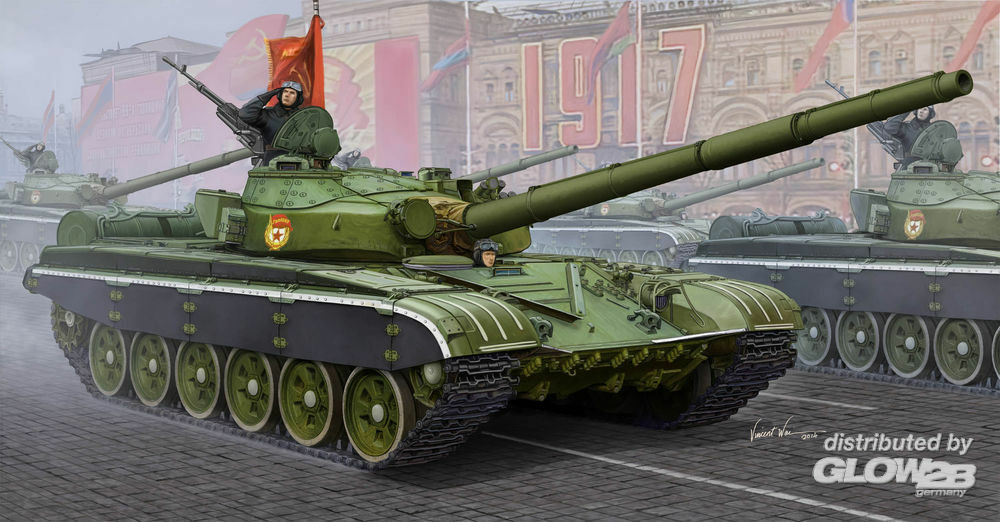 Trumpeter 05598 Russian T-72B MBT in 1:35