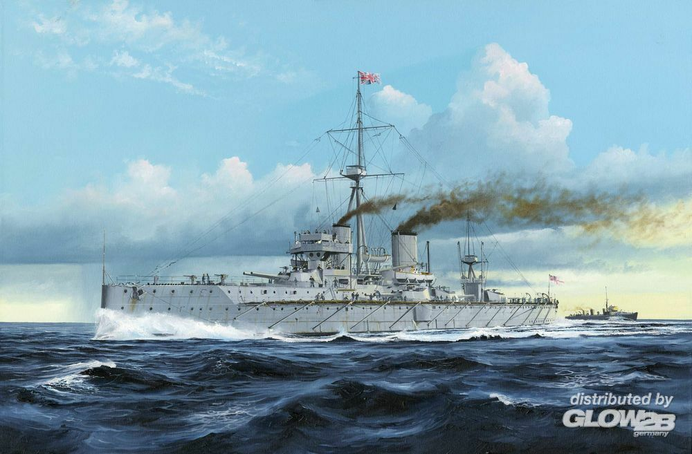 Trumpeter 05328 HMS Dreadnought 1907 in 1:350