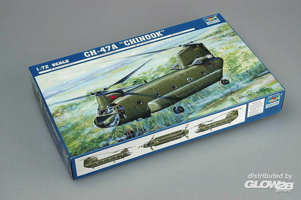 Trumpeter 01621 CH47A Chinook in 1:72