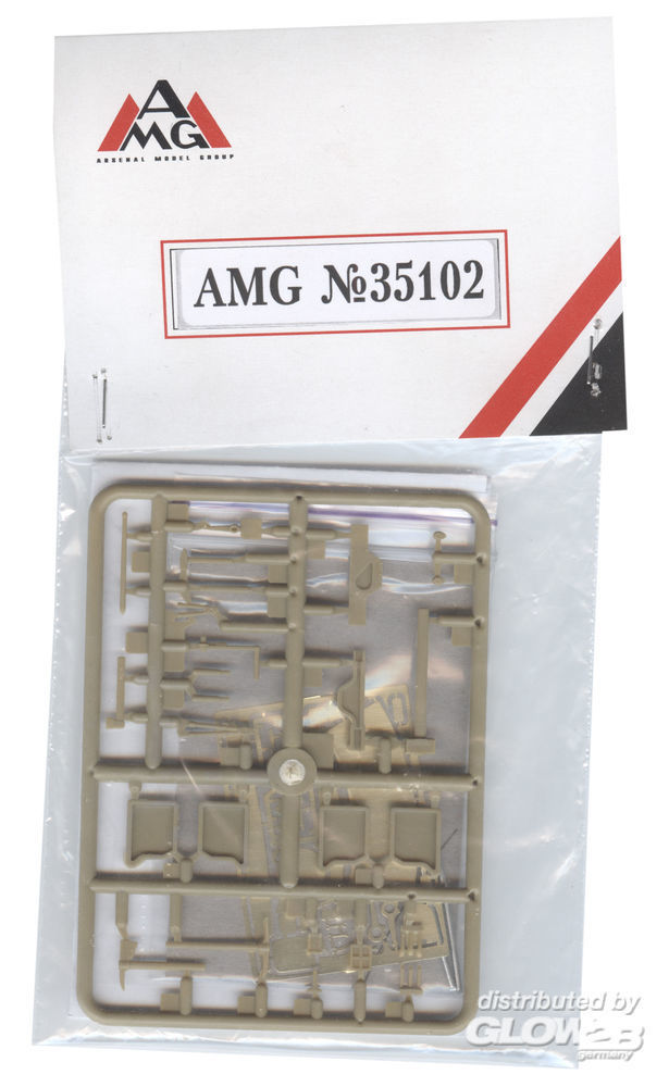 AMG AMG35102 German accessories an spare parts WWII in 1:35