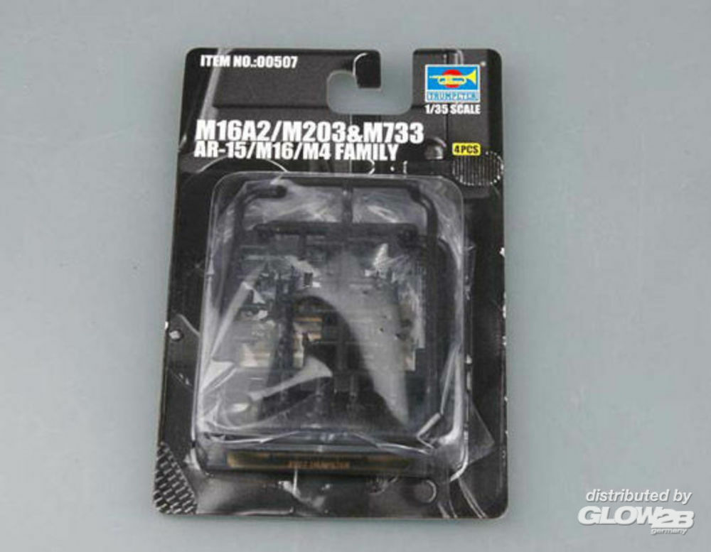 Trumpeter 00507 AR-15/M16/M4 Family M733 in 1:35