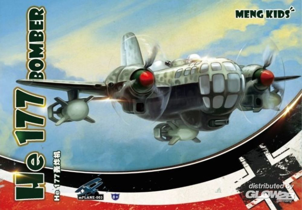 MENG-Model mPLANE-003s He 177 Bomber (Special Edition) White sp
