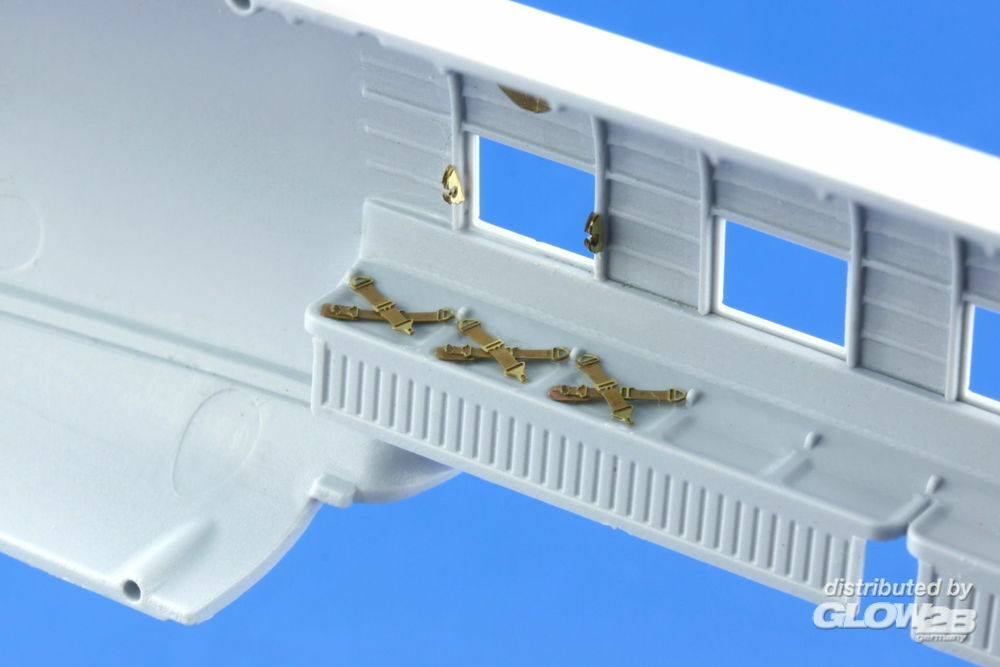 Eduard Accessories 73514 C-47 cargo seatbelts for Airfix in 1:72
