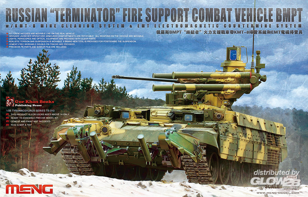 MENG-Model TS-010 Russian Terminator Fire Support Combat in 1:35