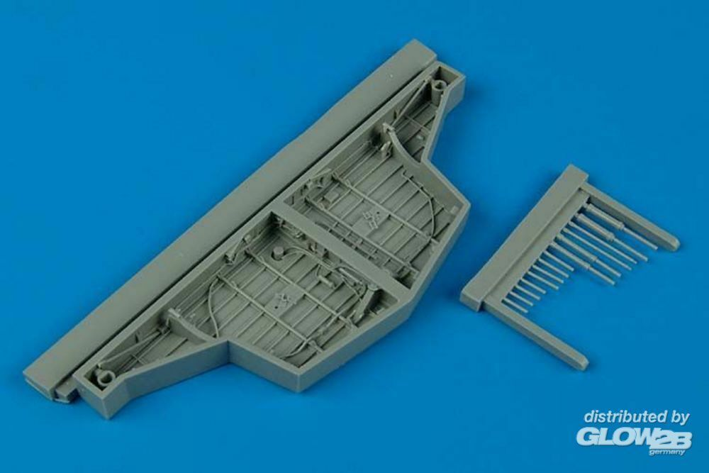 Aires 4452 Hawker Sea Fury wheel bay for Trumpeter in 1:48