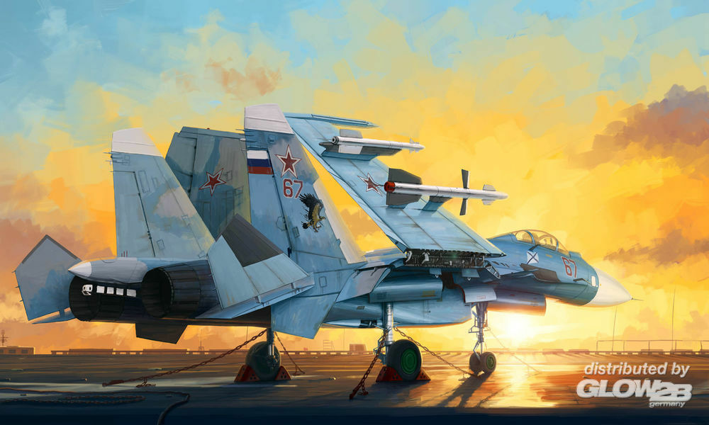 Trumpeter 01678 Russian Su-33 Flanker D in 1:72