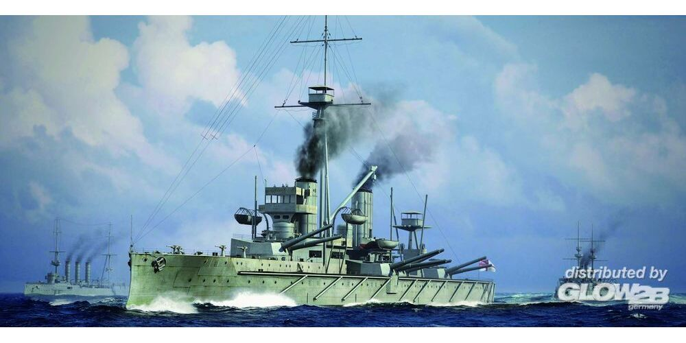 Trumpeter 06705 HMS Dreadnought 1915 in 1:700