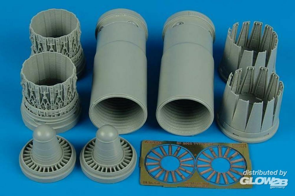Aires 2119 EF 2000A early exhaust nozzles (TRU) in 1:32