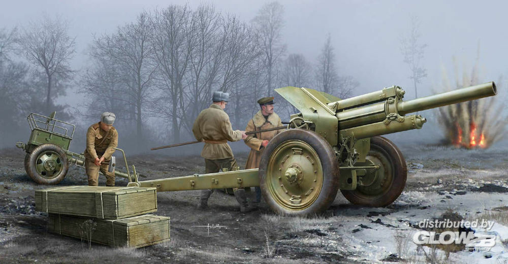 Trumpeter 02343 Soviet 122mm Howitzer 1938 M-30 Early Ve in 1:35
