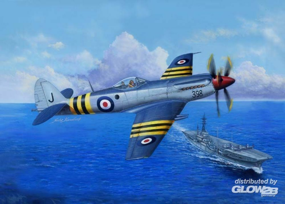 Trumpeter 02851 Supermarine Seafang F.MK.32 Fighter in 1:48