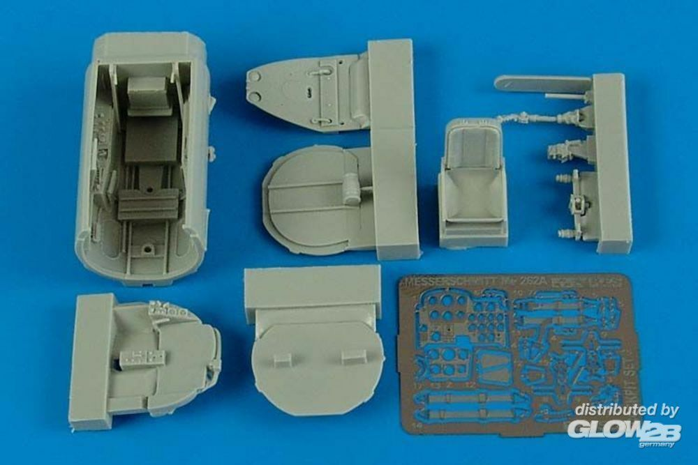 Aires 4528 Me 262A cockpit set for Hobby Boss in 1:48