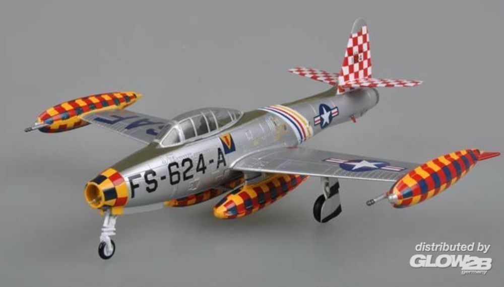 Easy Model 37107 F-84E Flown by the CO of the 86th FBW in 1:72