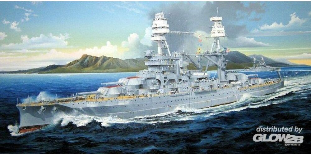 Trumpeter 03701 USS Arizona BB-39 in 1:200