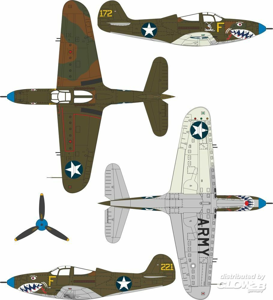 Special Hobby 100-SH32062 P-400 Airacobra in 1:32
