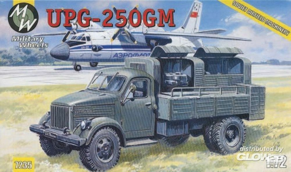 Military Wheels MW7235 UPG-250GM on the GAZ-51 in 1:72