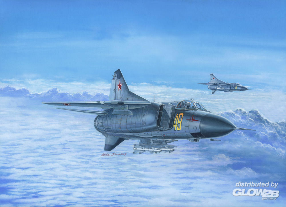 Trumpeter 02853 Russian MiG-23M Flogger-B in 1:48