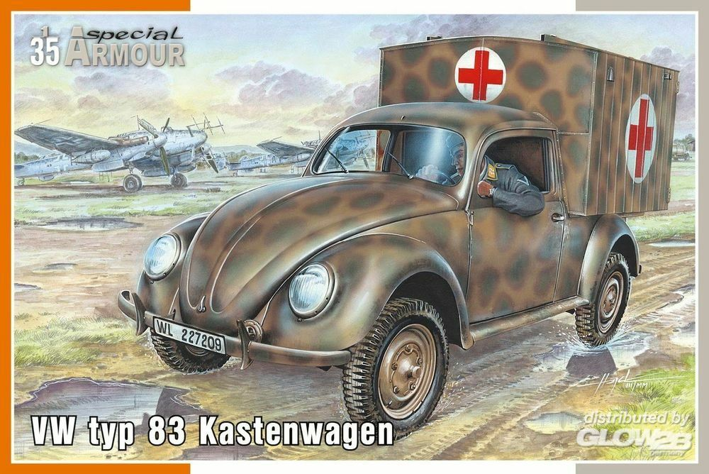 Special Hobby 100-SA35005 VW typ 83 Kastenwagen in 1:35