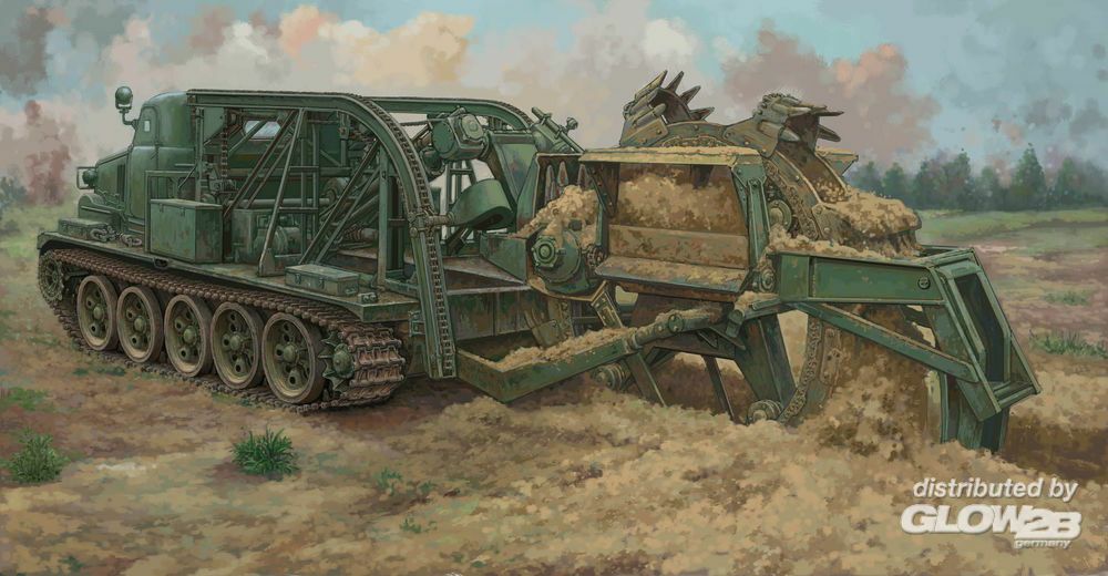 Trumpeter 09502 BTM-3 High-Speed Trench Digging Vehicle in 1:35