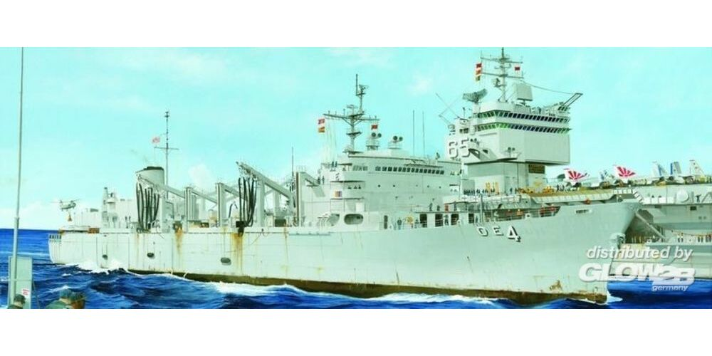 Trumpeter 05786 AOE Fast Combat Support Ship-USS Detroit in 1:700