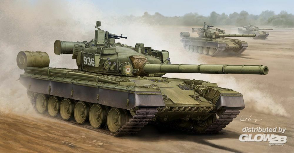 Trumpeter 05565 Russian T-8oB MBT in 1:35