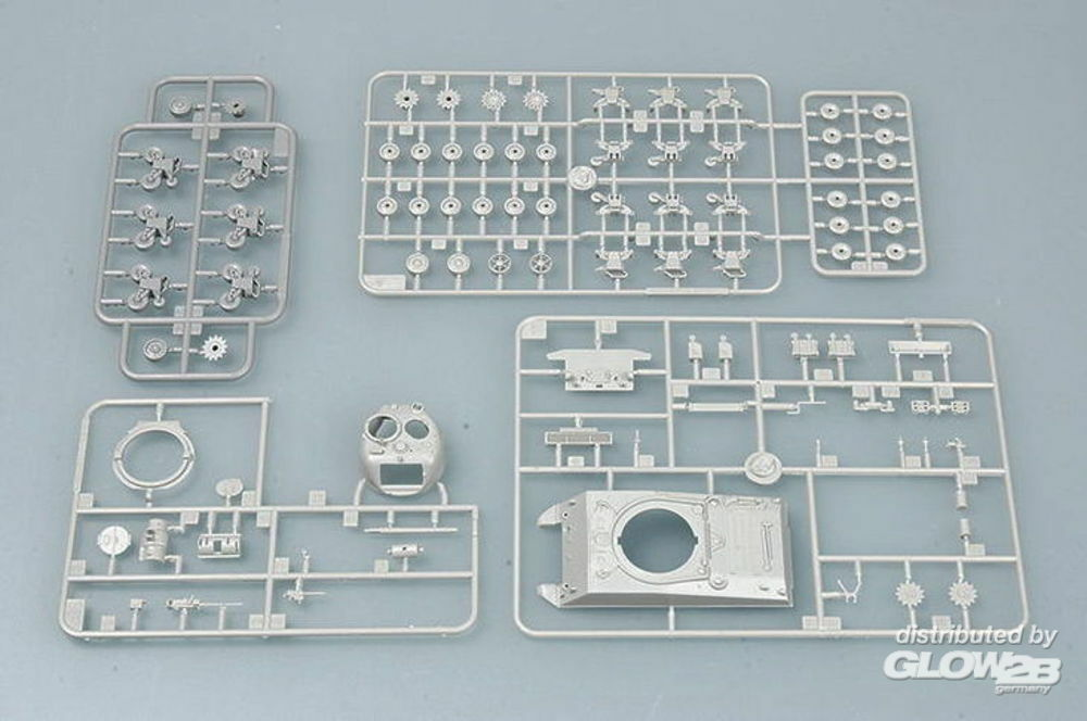 Trumpeter 07224 M4A3 Tank in 1:72