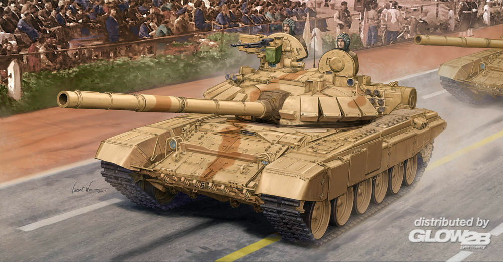 Trumpeter 05561 Indian T-90C MBT... in 1:35