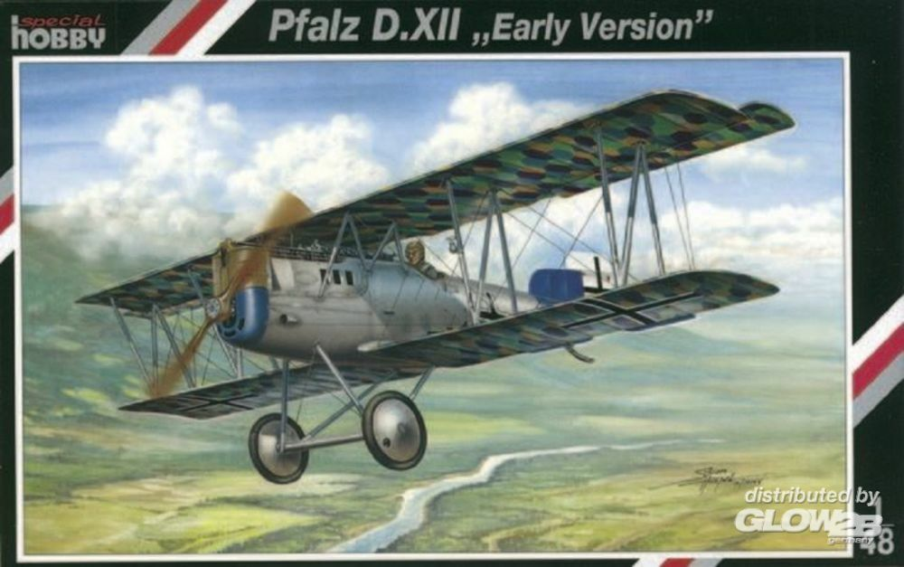 Special Hobby 100-SH48026 Pfalz D.XII Early Version in 1:48