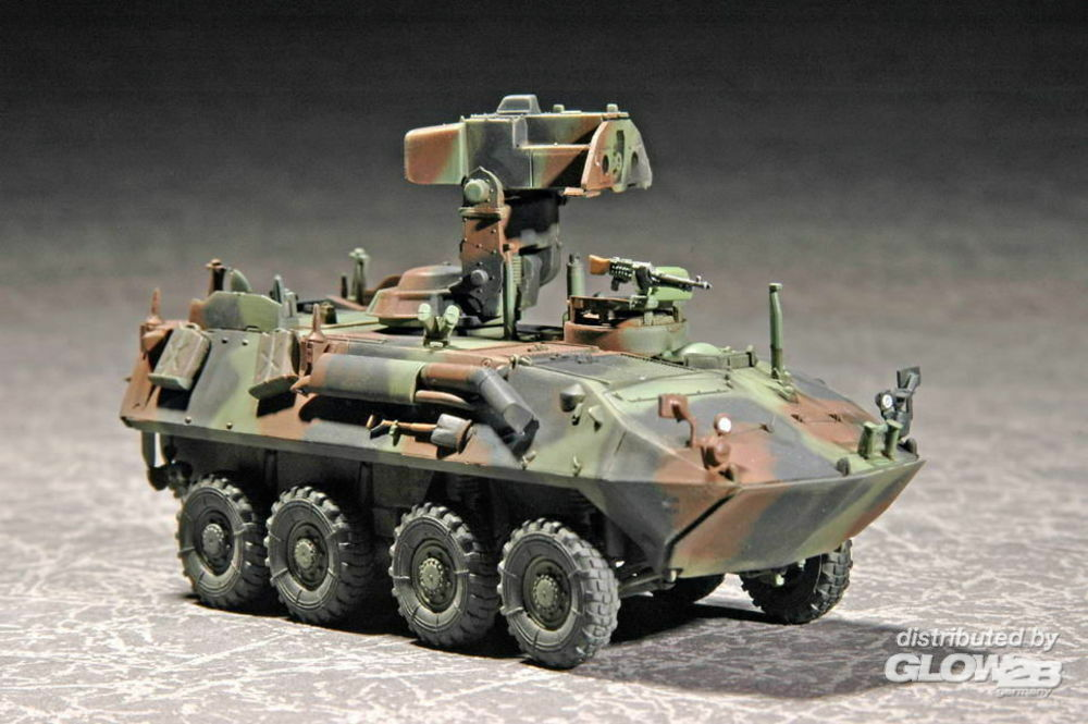 Trumpeter 07271 US LAV-AT (Anti-Tank) in 1:72