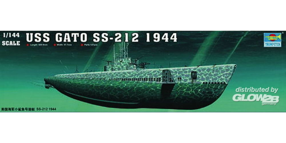 Trumpeter 05906 USS GATO SS-212 1944 in 1:144