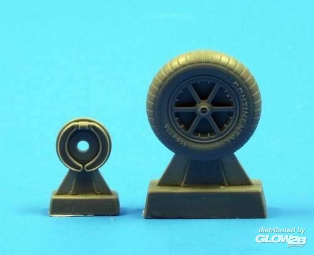 CMK 129-Q48070 Bf 109E wheels in 1:48