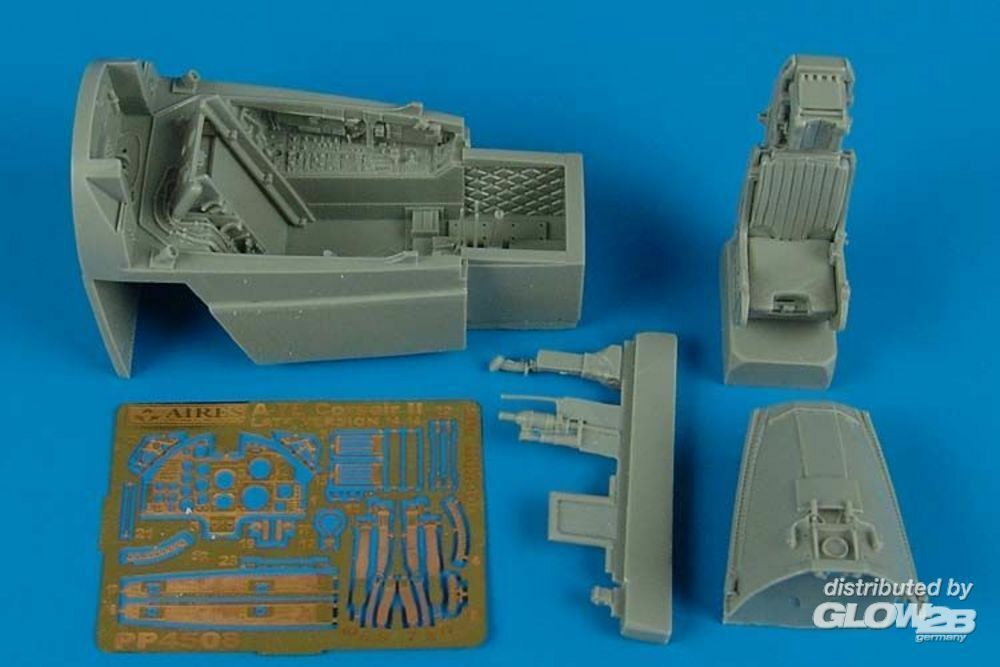 Aires 4508 A-7E Corsair II late v. cockpit set (HB) in 1:48