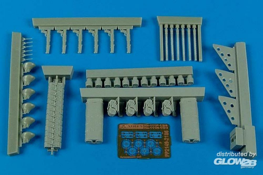 Aires 2149 He 111P-4+He 111H-3 early armament set in 1:32