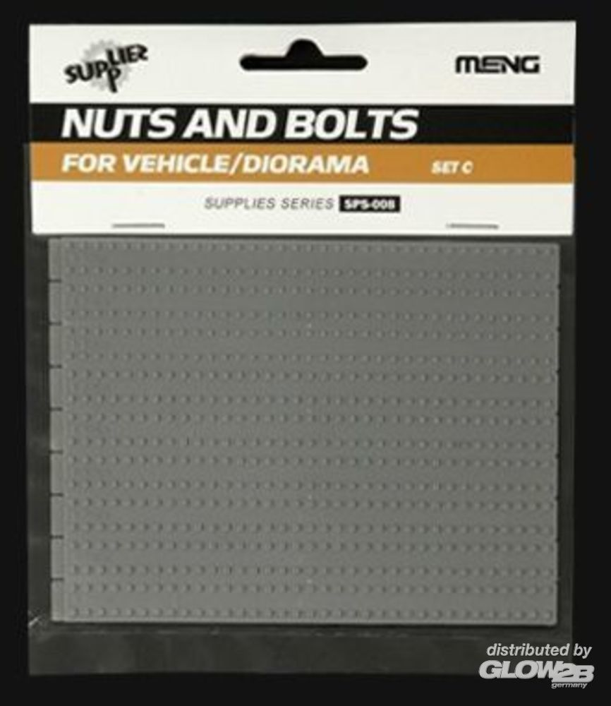 MENG-Model SPS-008 Nuts and Bolts SET C in 1:35