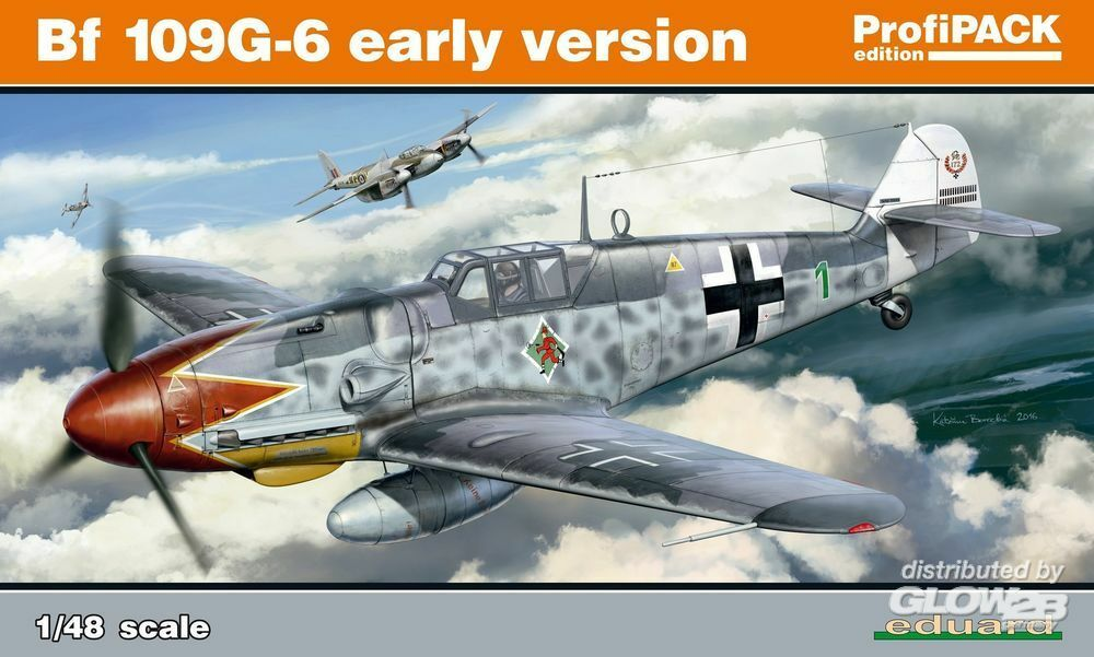 Eduard Plastic Kits 82113 Bf 109G-6 early version Profipack in 1:48