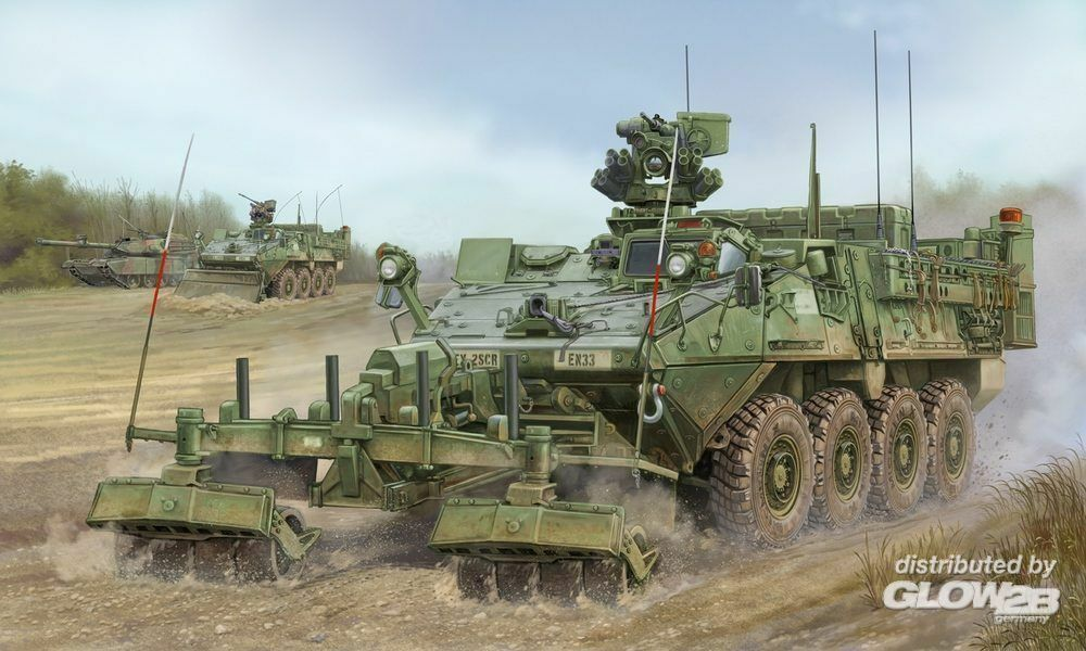 Trumpeter 01574 M1132 Stryker Engineer Squad Vehicle in 1:35