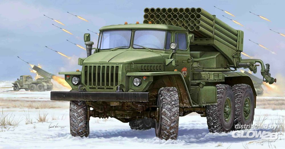Trumpeter 01013 Russian BM-21 Hail MRL-Early in 1:35