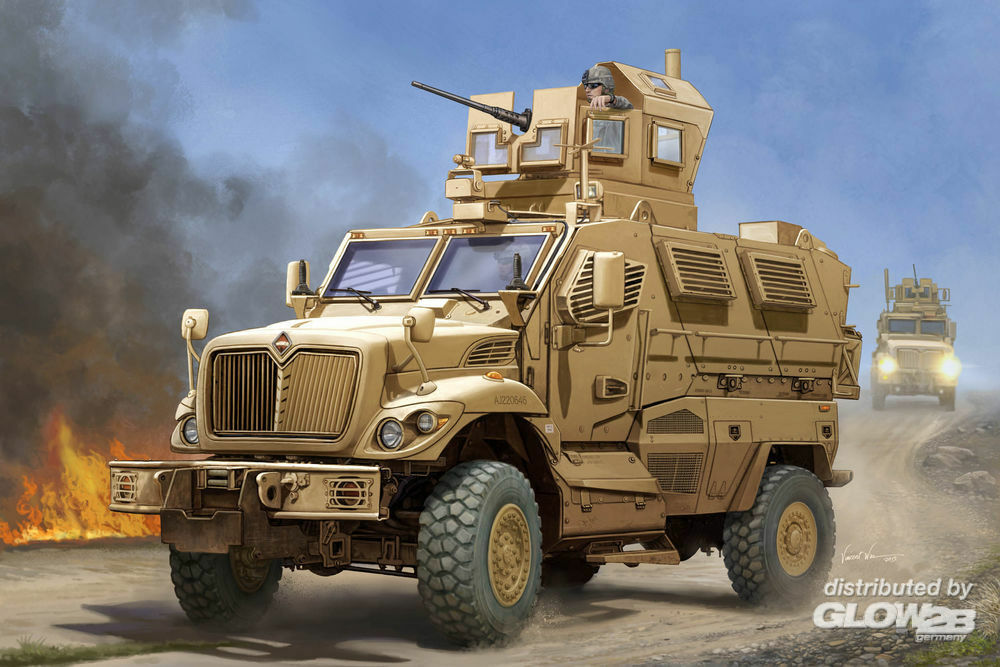 Trumpeter 00931 US Mauxxpro MRAP in 1:16
