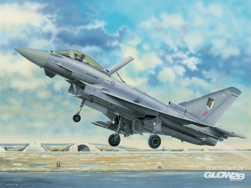 Trumpeter 02278 EF-2000 Eurofighter Typhoon in 1:32