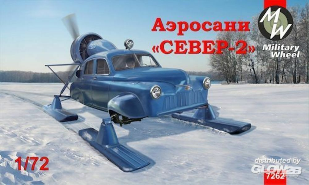 Military Wheels MW7262 Soviet aerosan