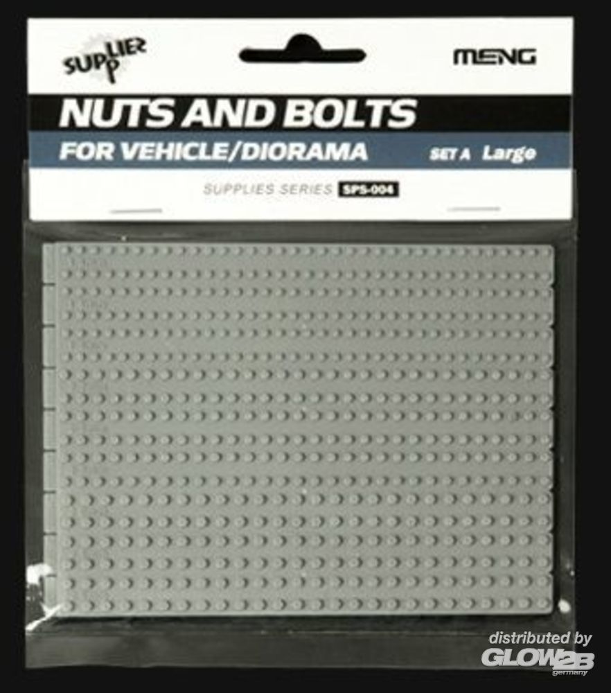 MENG-Model SPS-004 Nuts and Bolts SET A (large) in 1:35