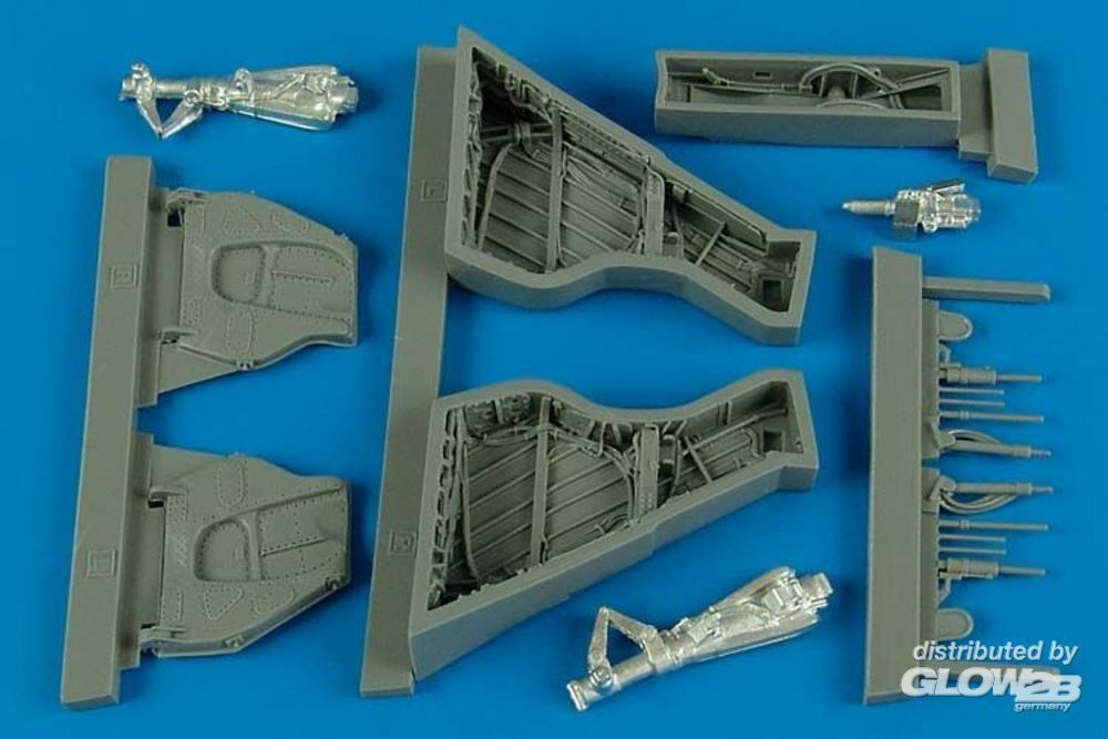 Aires 4531 Sea Wixen FAW. 2 wheel bay for Airfix in 1:48